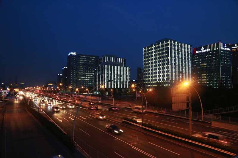 上海漕河泾现代服务业集聚区  (亮化工程)