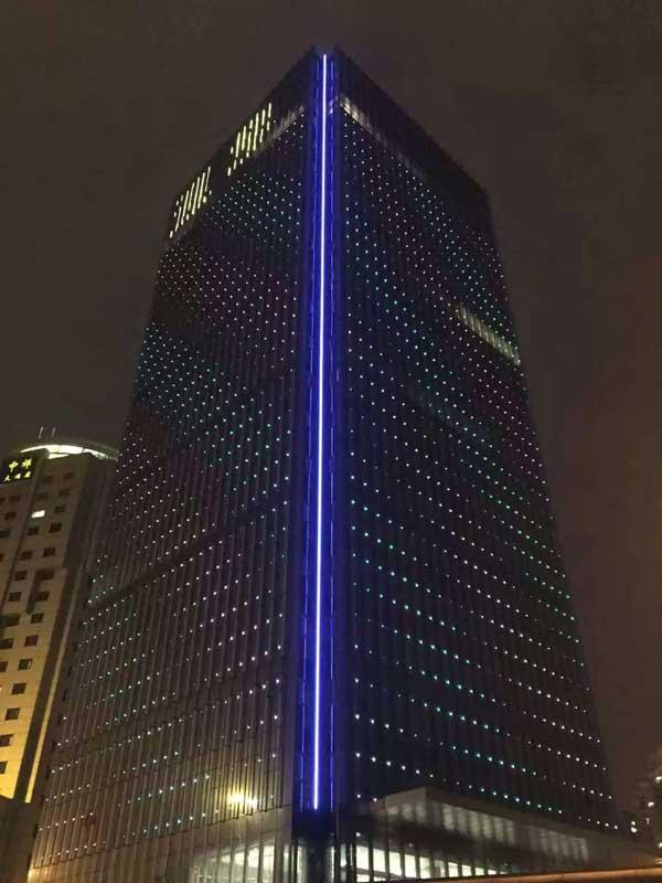 上海超群国际大厦 (亮化工程)